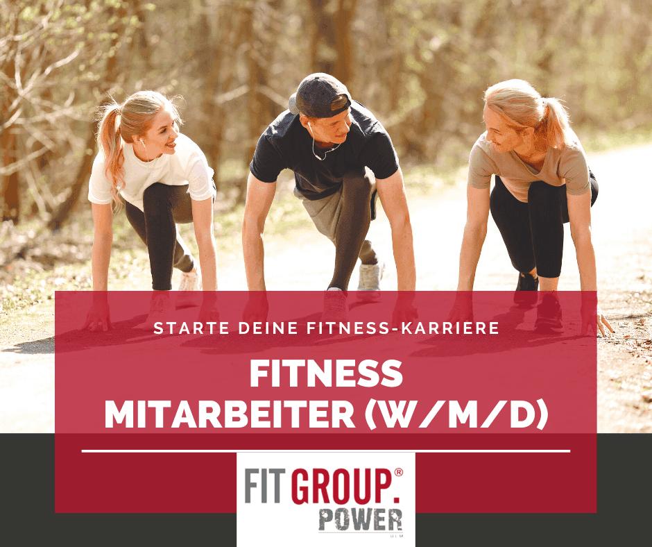 Stellenangebot Fitness Trainer